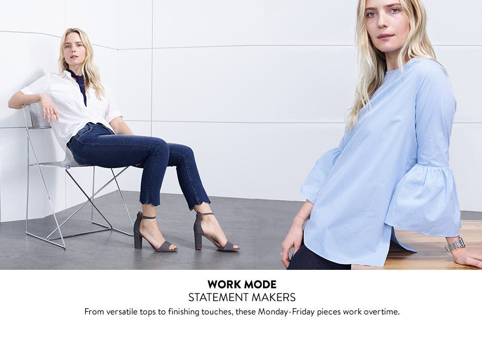Work mode: statement makers.