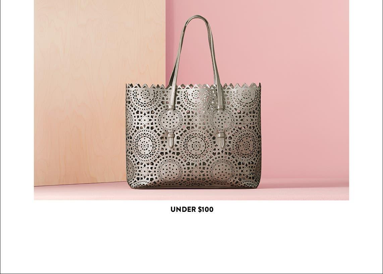 Handbags under $100.