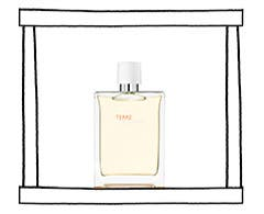 Hermès men's fragrances.