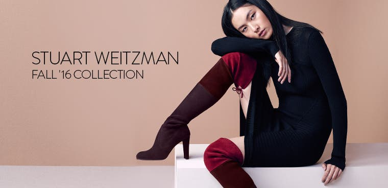Stuart Weitzman, fall '16 collection.