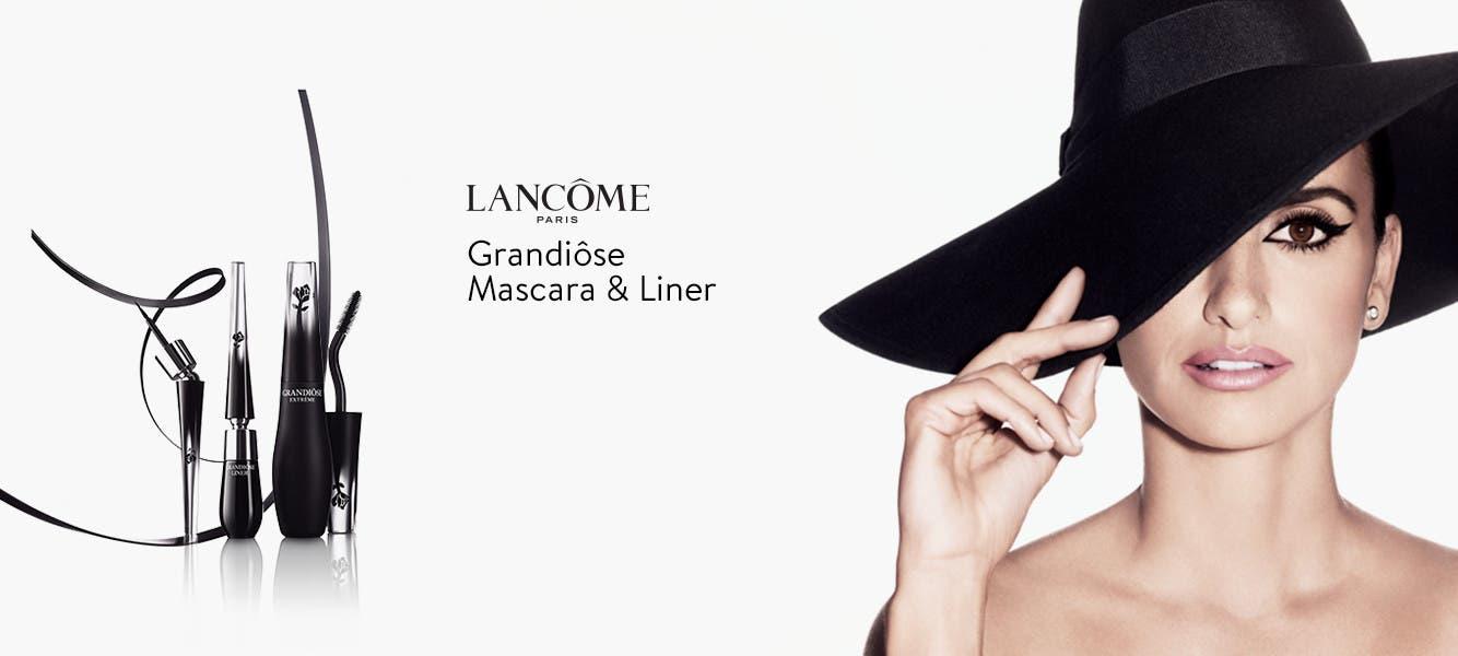Grandiose mascara and liner.