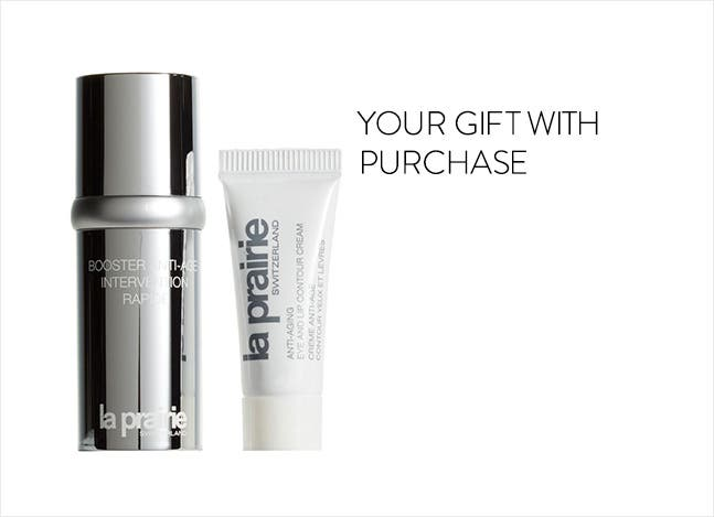Your La Prairie gift with purchase.