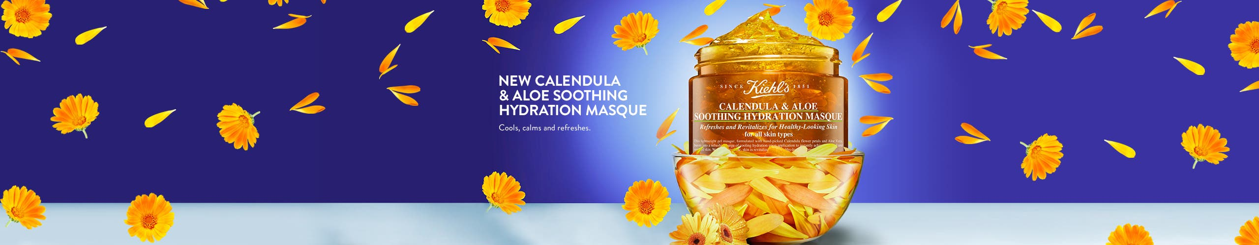 New Calendula and Aloe Soothing Hydrating Masque