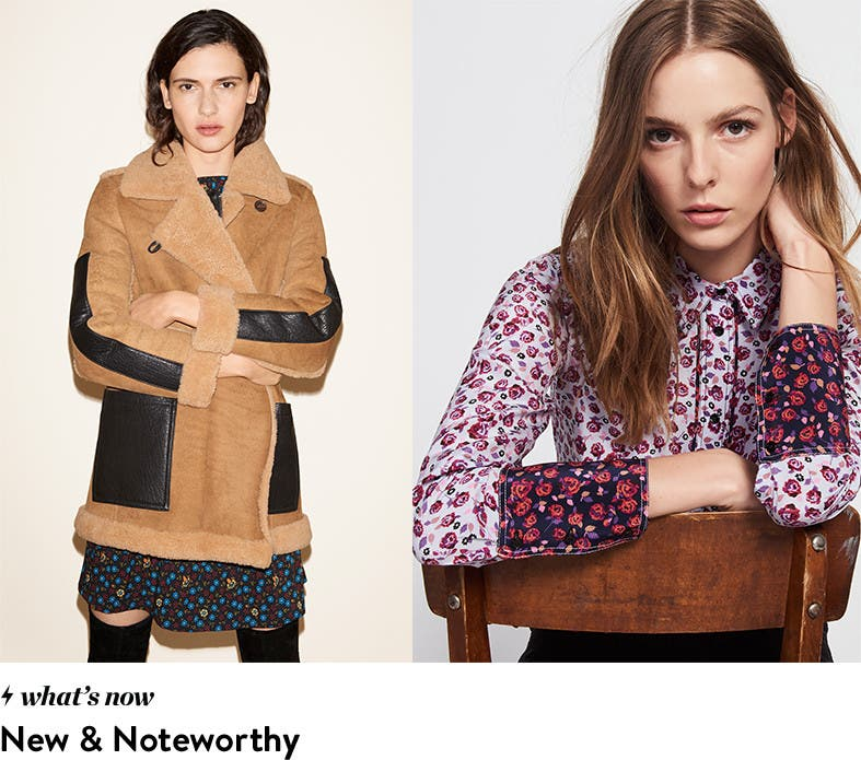 New and noteworthy: headline makers and wardrobe shakers.