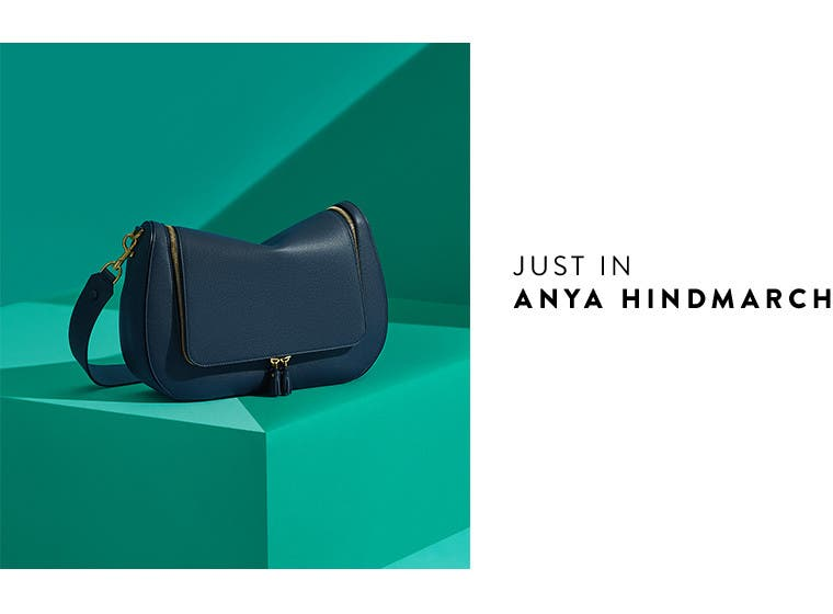 Just in: designer bags from Anya Hindmarch.