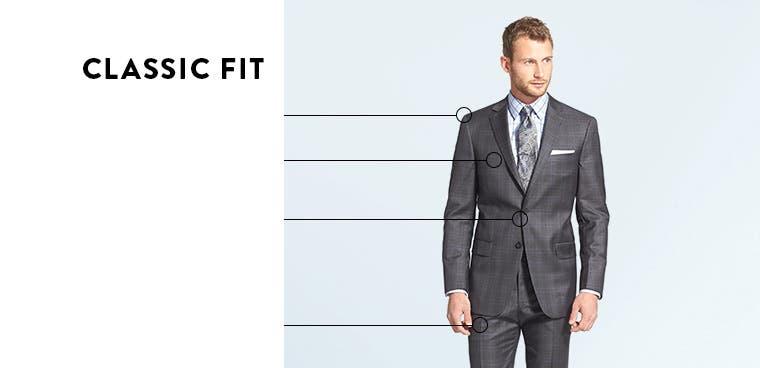 Men's Classic-Fit Suits & Sport Coats | Nordstrom