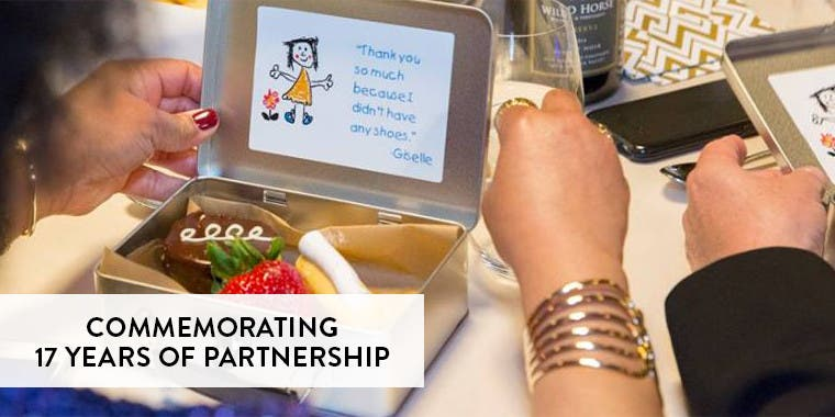 Commemorating 17 years of partnership