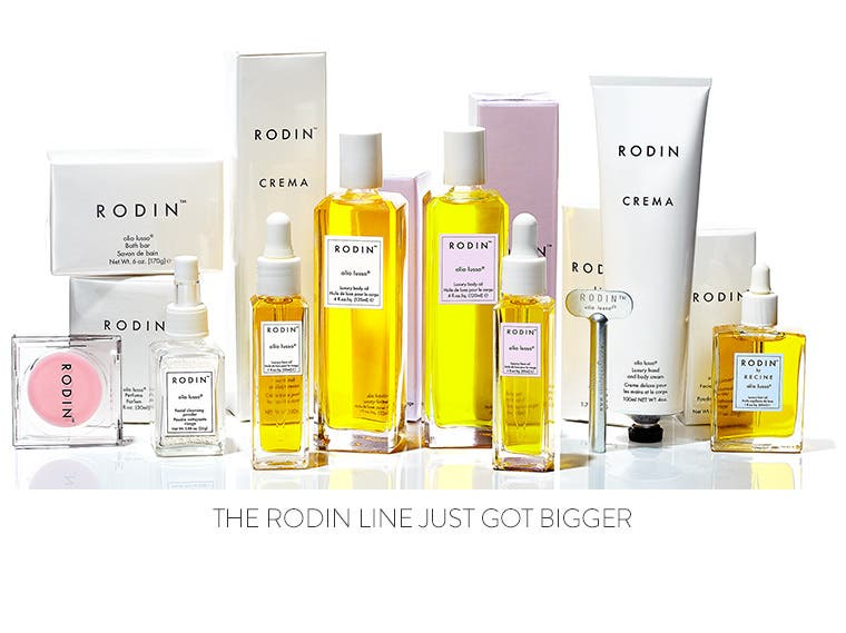 The Rodin skin care and makeup line just got bigger.