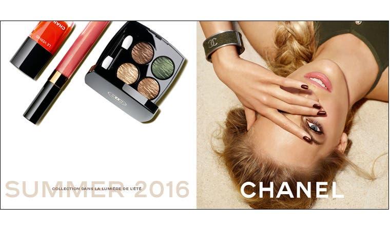 Chanel Summer 2016 makeup.