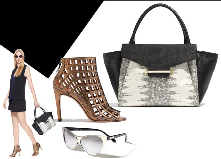 City-chic shoes and accessories for women.