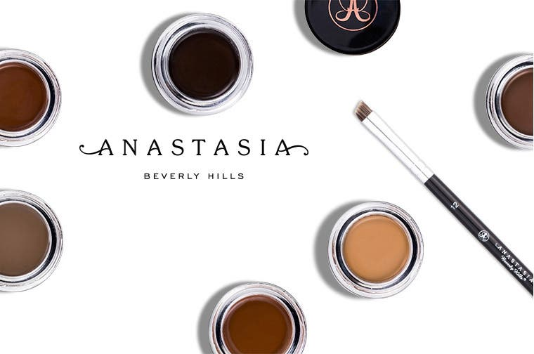 Anastasia Beverly Hills makeup.