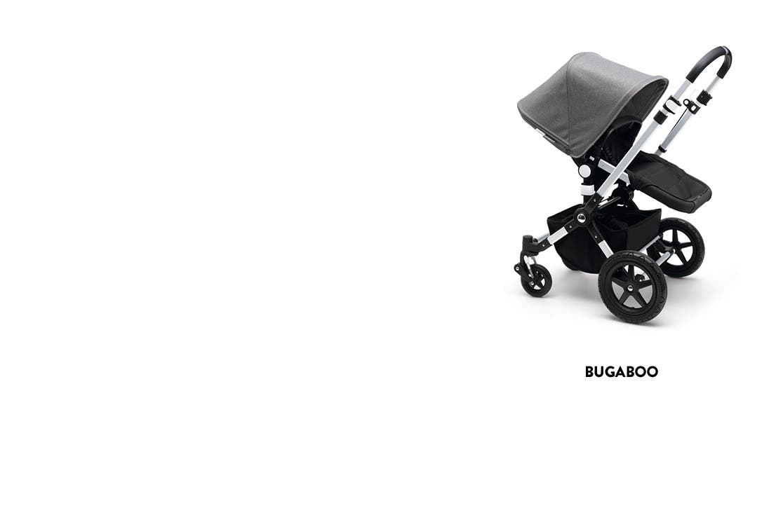 Bugaboo baby strollers and more.