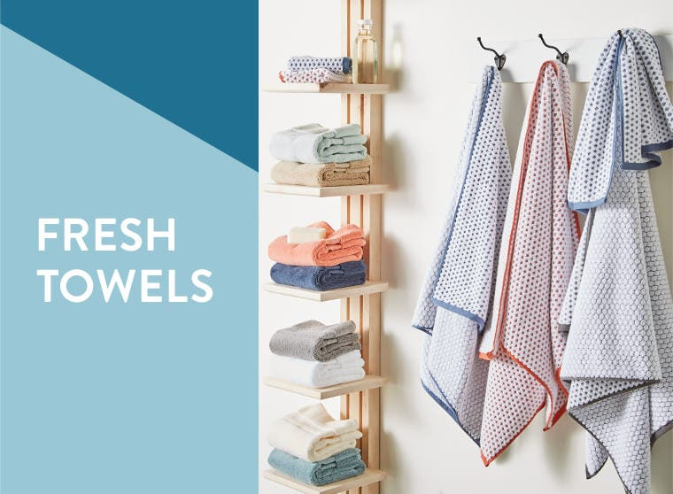 Fresh towels.