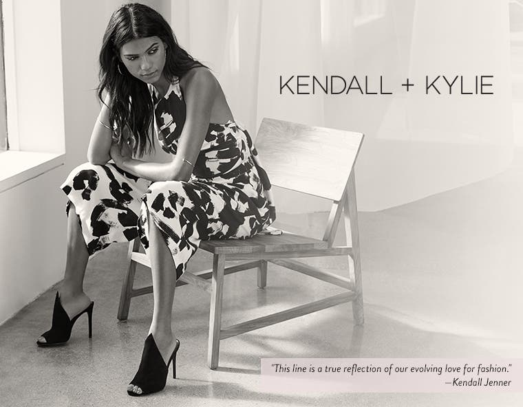 KENDALL + KYLIE women's clothing and shoes.
