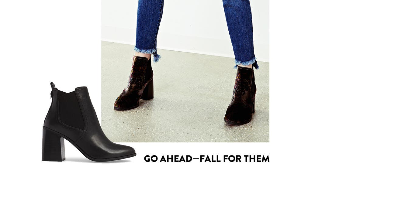 Go ahead and fall for BP. shoes.