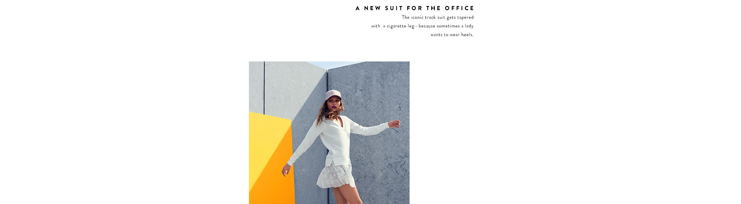 Athleisure clothing and shoes for women.