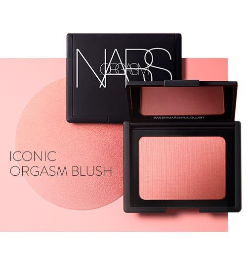 Iconic NARS Orgasm Blush.