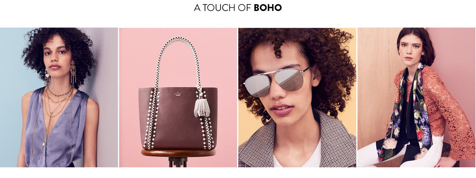 A touch of boho.
