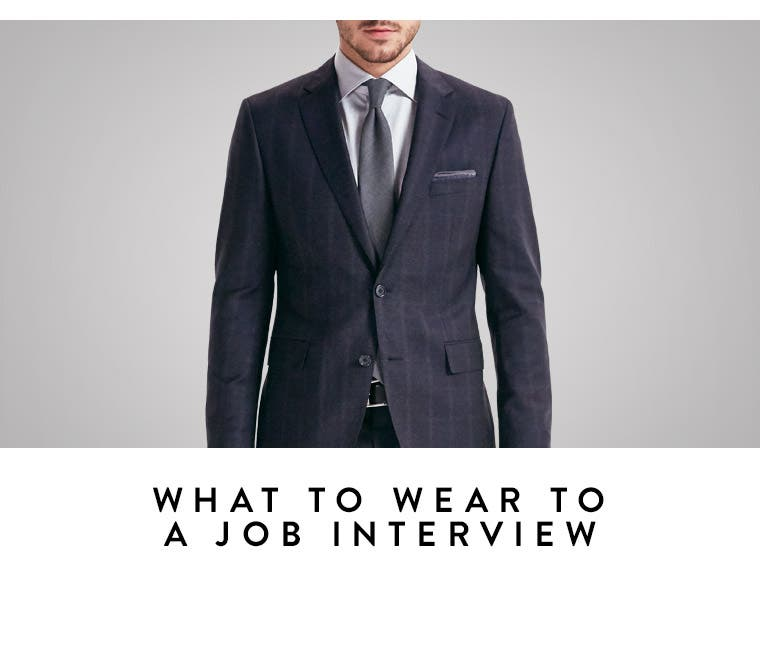 Play video about what to wear to a job interview.