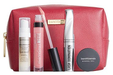 Receive a free 5-piece bonus gift with your $60 bareMinerals purchase