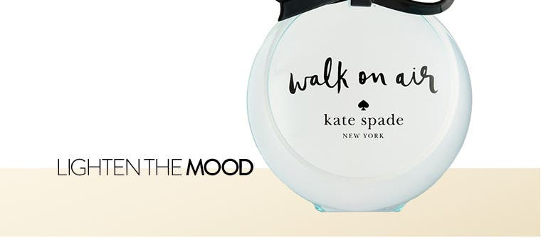 Lighten the mood: kate spade new york women's fragrance.