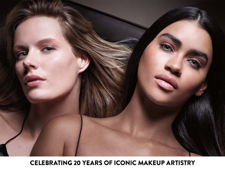 Celebrating 20 years of iconic makeup artistry.