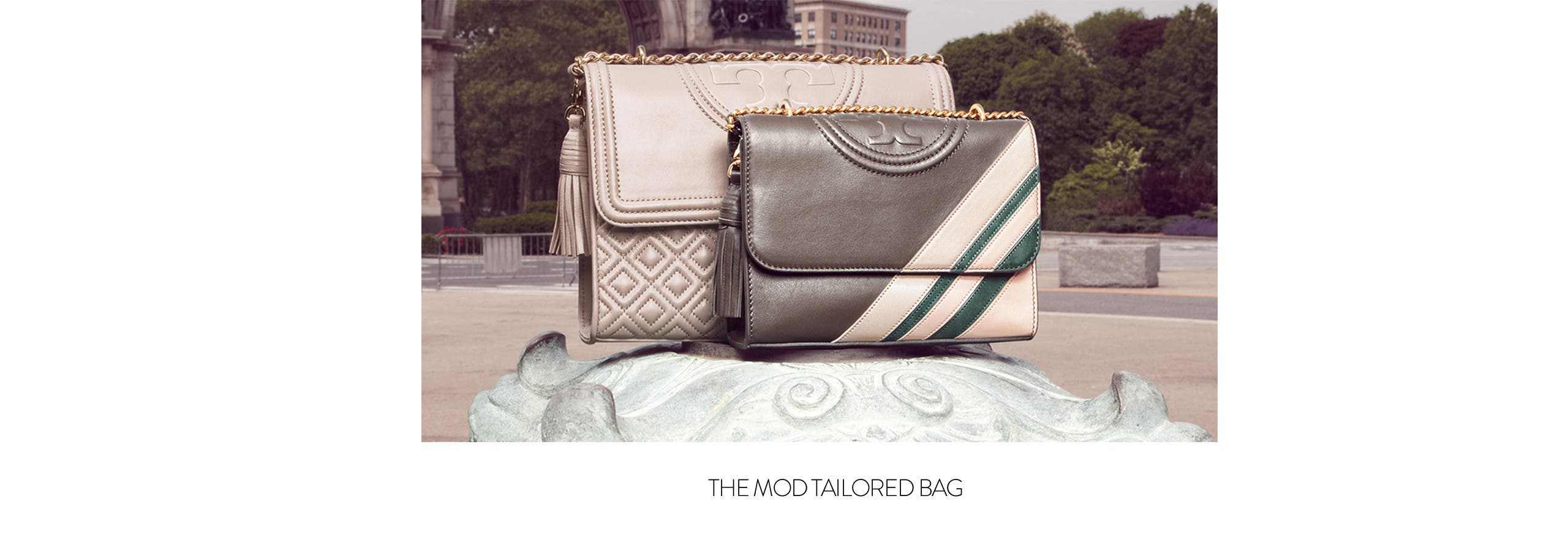 The mod tailored bag.
