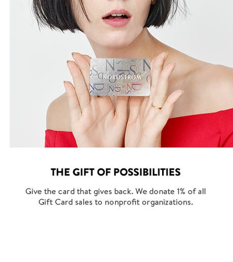 Give the gift of possibilities. Shop Gift Cards and eGift Cards.
