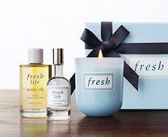 Fresh fragrances.