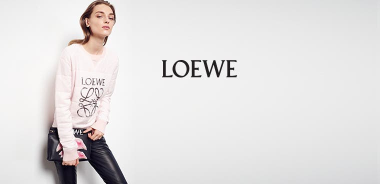 Loewe bags, shoes and ready-to-wear.