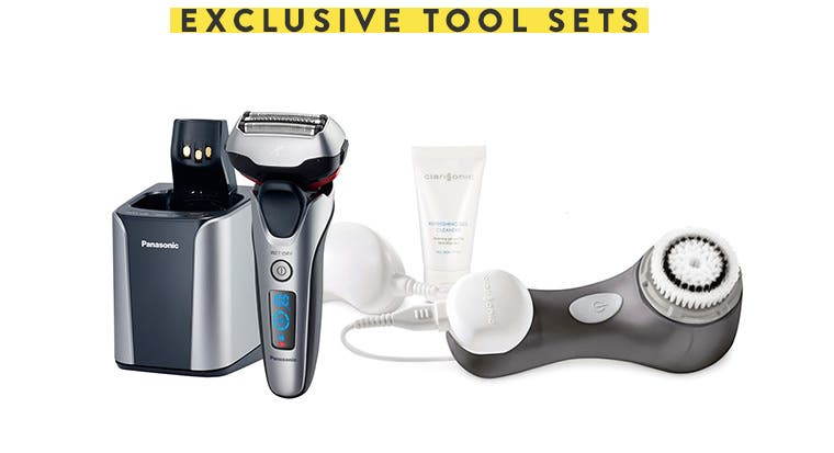 Exclusive tool sets.
