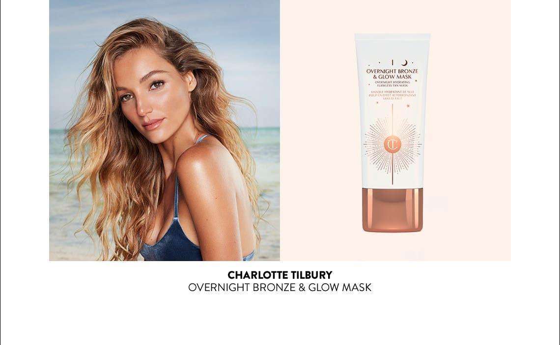 Charlotte Tilbury Overnight Bronze & Glow Mask.