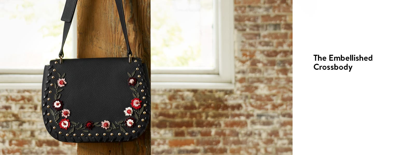 The embellished crossbody.