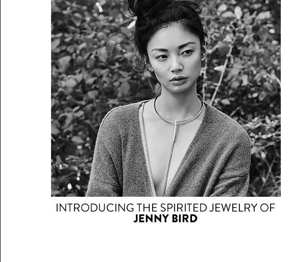 Introducing the spirited jewelry of Jenny Bird.