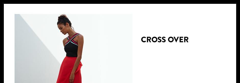 Cross over.