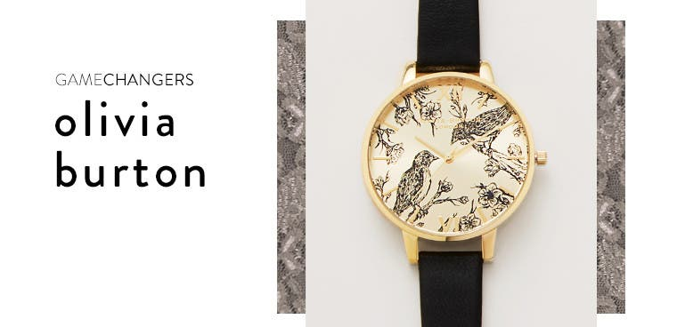 Gamechangers: Olivia Burton watches.