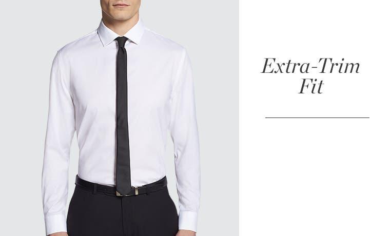 Men 39 S Dress Shirt Measurements Fit Guide Nordstrom