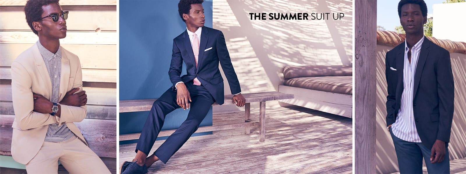 The summer suit up.
