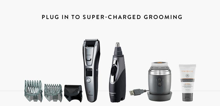 Plug in to super-charged grooming.
