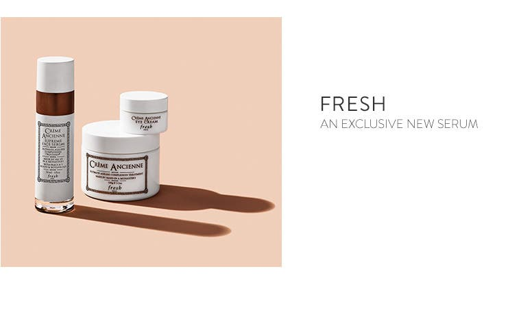 An exclusive new serum from Fresh.