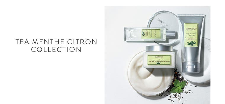 New from Laura Mercier: Tea Menthe Citron Collection.