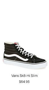 Vans 'Sk8-Hi Slim' Hi-Top Sneaker.