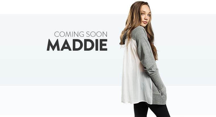 Coming soon: MADDIE by Maddie Ziegler.