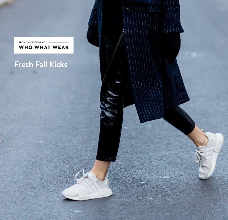 Fresh fall kicks for women.