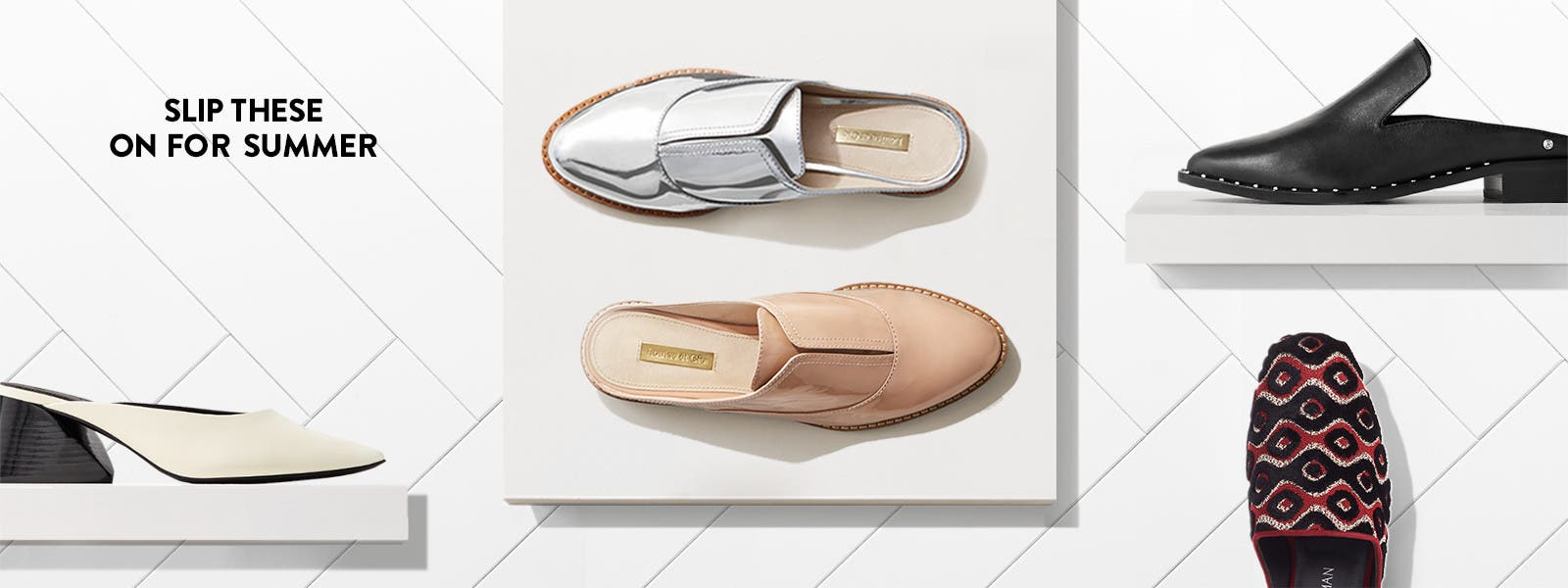 Slip these on for summer.