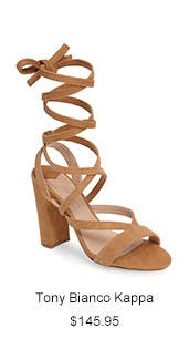 Tony Bianco Kappa Ankle Wrap Sandal.