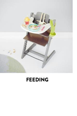Feeding essentials for baby.