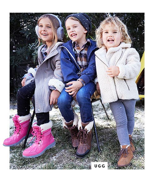 UGG: little feet, big style.