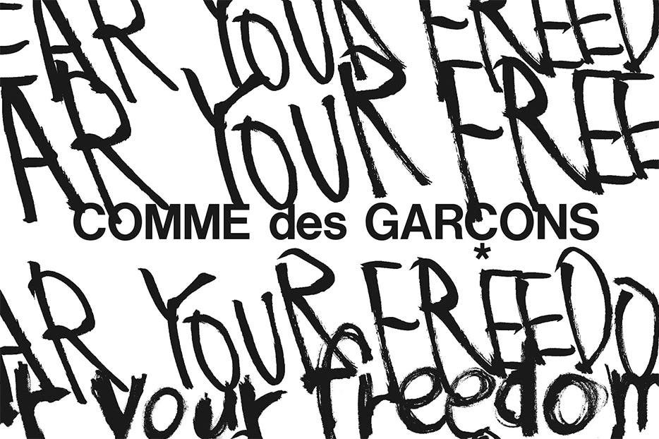 Comme des Garcons Collection.
