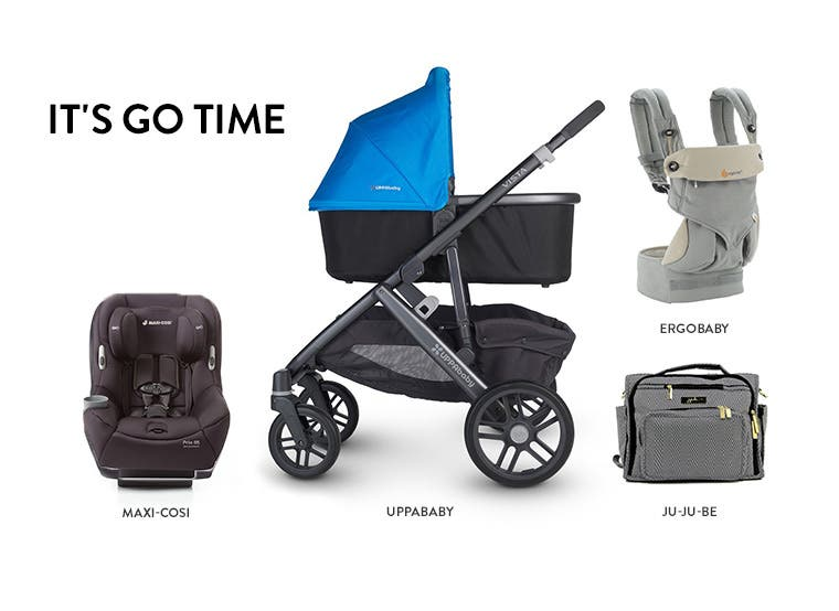 It's go time with baby gear.